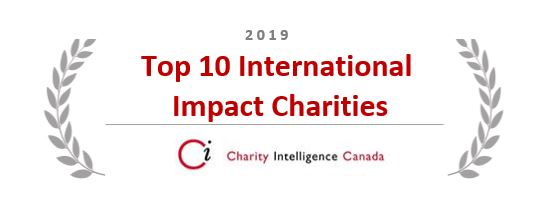 Top 10 International Impact Charities